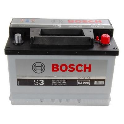 Acumulatori auto Bosch - S3 70Ah EN 640A