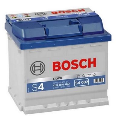Acumulatori auto Bosch - S4 52 Ah EN 470A