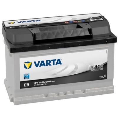 Acumulatori auto Varta - Black Dynamic 70 Ah EN 640