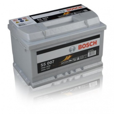 Acumulatori auto Bosch - S5 74 Ah EN 750A