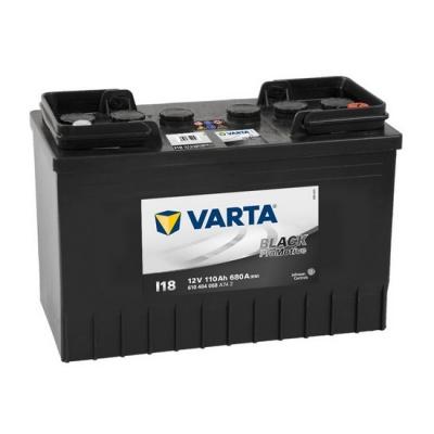Acumulatori auto Varta - Promotive Black 110Ah EN 680