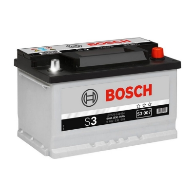 Acumulatori auto Bosch - S3 70 Ah EN 640A