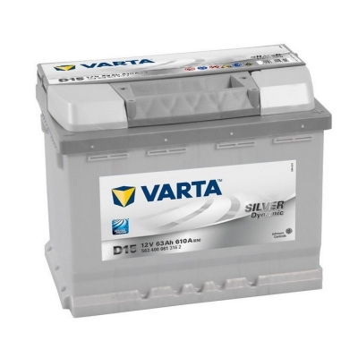 Acumulatori auto Varta - Silver Dynamic 63Ah EN 610