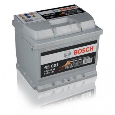 Acumulatori auto Bosch - S5 52 Ah EN 520A