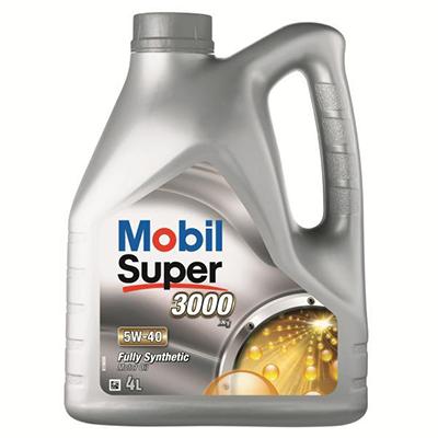 5W40 Mobil Super 3000 X1 - 4L